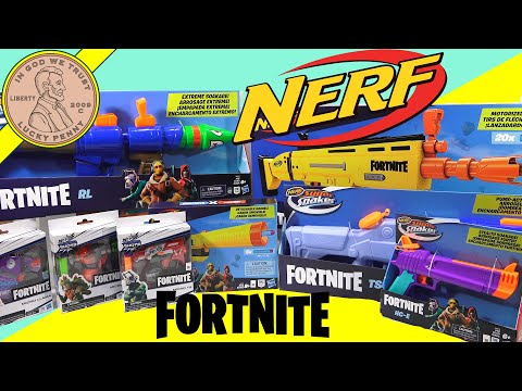 Nerf Fortnite Blasters & Super Soaker Surprise Hasbro Box