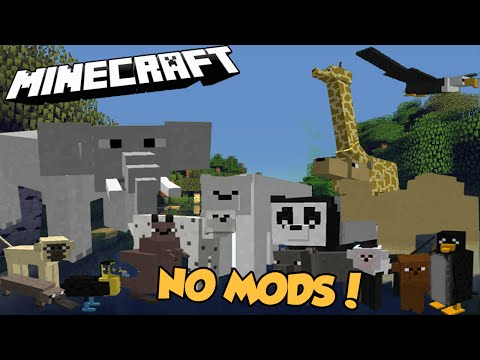 MORE ANIMALS - NO MODS!  - Command Block series EP4
