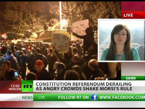 Far From Pharaoh: Referendum derails in Egypt as turmoil intensifies