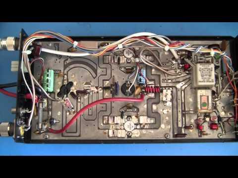 VHF Amplifier Mirage B3016 - YouTube