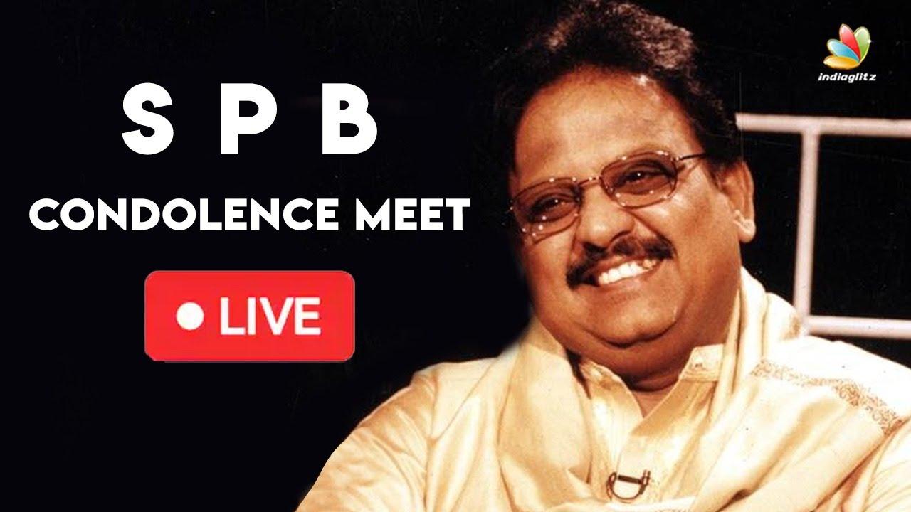 🔴 LIVE : SP Balasubrahmanyam Prayer Meet | இரங்கல் அஞ்சலி #RIPSPB