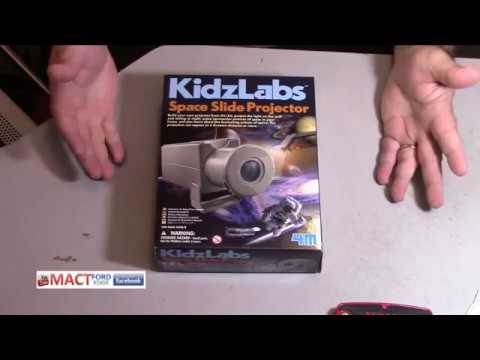 KIdzlabs Space Slide Projector assembly and use
