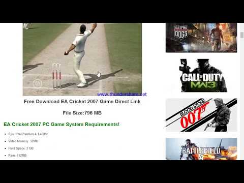 Ea sports cricket 2016 pc game free download gaming ustaad.