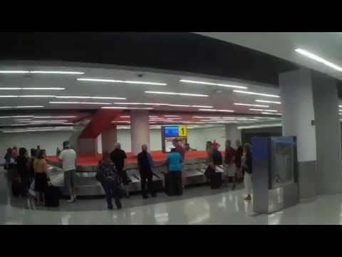 Walking Around Inside JFK Airport T5 Terminal in New York