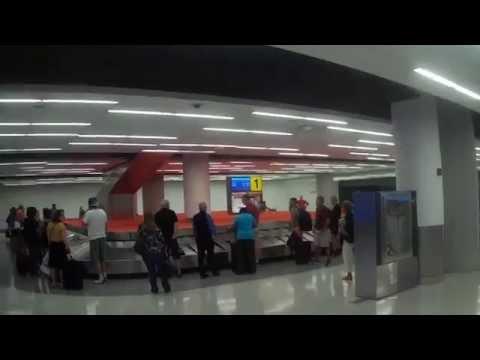 Walking Around Inside JFK Airport T5 Terminal in New York
