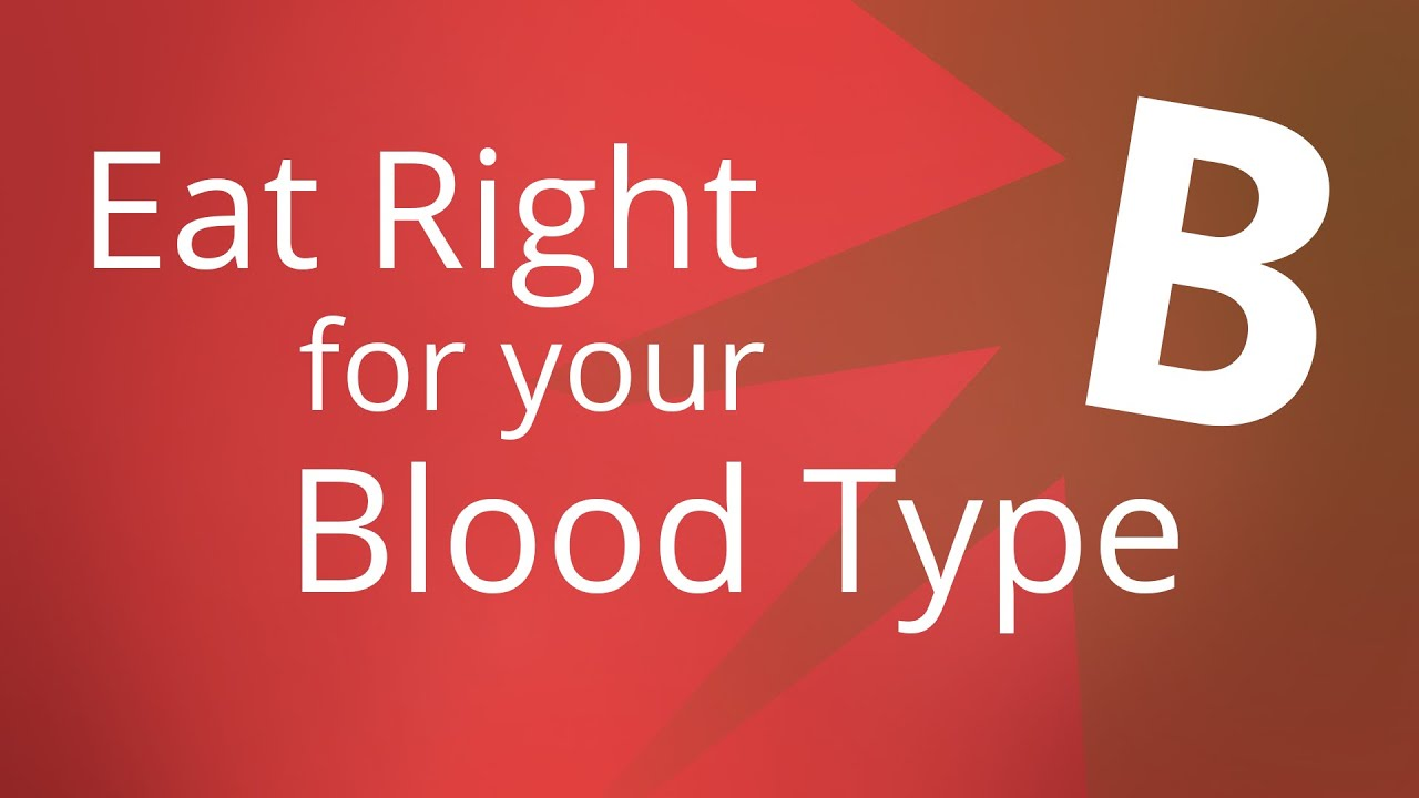 What Foods Are Best For A Blood Grouping