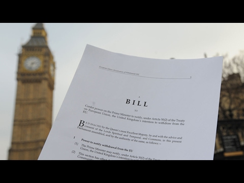 How a Bill is made in to UK law