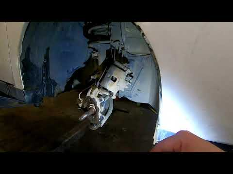 Nissan WINGROAD замена ступицы