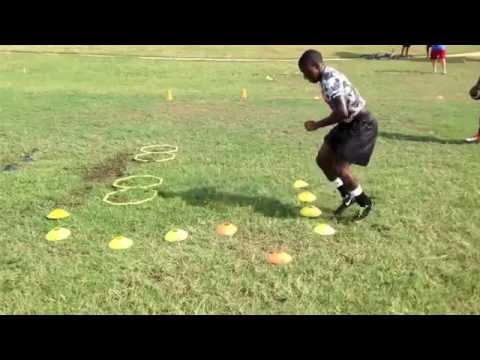 Chandler Smith speed and agility 2014 : class 2016 RB,Texas