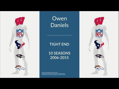 Owen Daniels: Football Tight End
