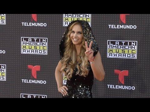 Lucero // Latin American Music Awards 2015 Red Carpet Fashion Arrivals