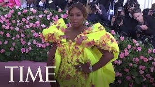 Serena Williams Showed Up To The 2019 Met Gala In A Stunning Gown & Matching Sneakers | TIME