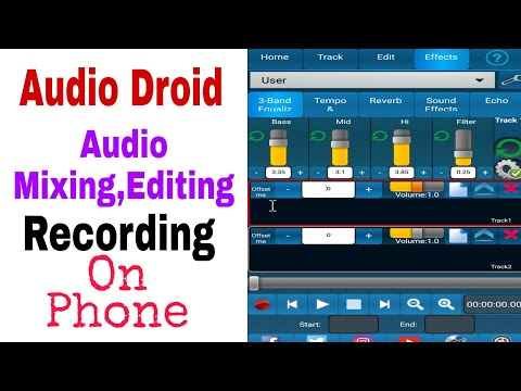 Audio Droid | Best Song Mixing App For Android | In Hindi