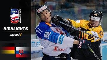 DEB-Team mit Comeback: Deutschland – Slowakei 3:2 | Highlights | IIHF Eishockey-WM 2019 | SPORT1