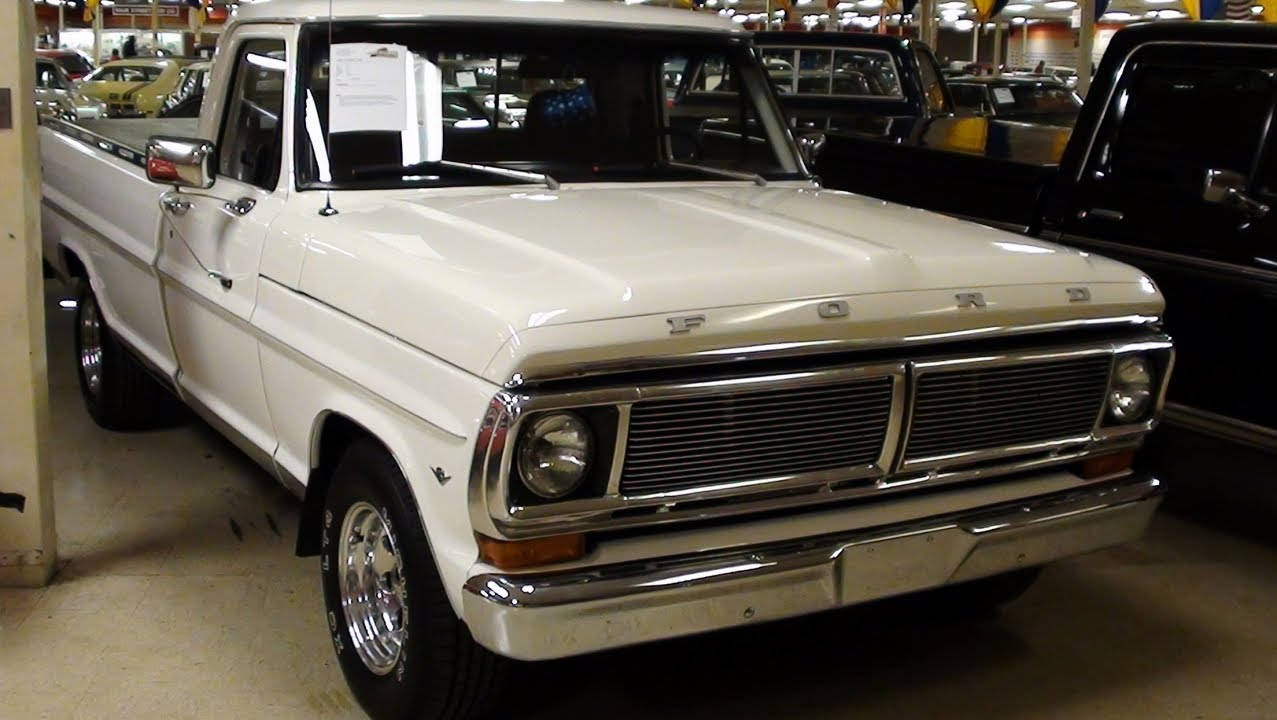 1972 ford f100 show truck 351w extremely clean youtube