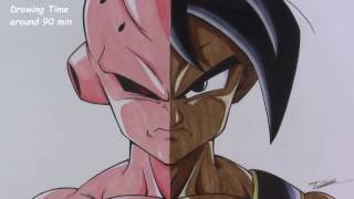 Drawing Kid Buu | Uub | Dragonball Z | TolgArt