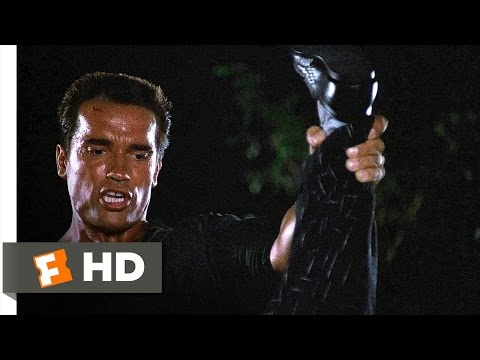 Commando (3/5) Movie CLIP - I Let Him Go (1985) HD