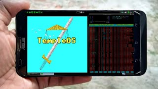 Run Most Mysterious OS on Android.!![ Temple OS: Hardest Question in Programming ]