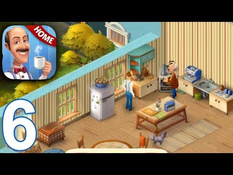 HOMESCAPES Story Walkthrough Gameplay Part 6 - Day 6 (iOS Android)