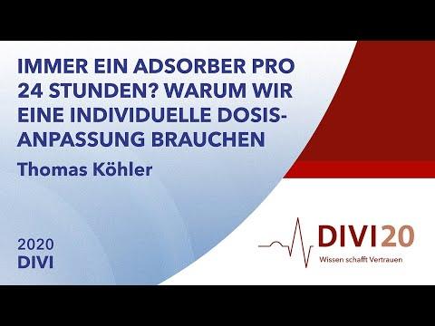 Warum wir eine individuelle Dosisanpassung brauchen | Thomas Köhler | DIVI 2020