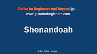 Shenandoah ( Across the Wide Missouri ) - A Fingerstyle Guitar Lesson