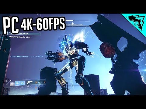 WOW - Destiny 2 PC Gameplay (4k @ 60 fps)