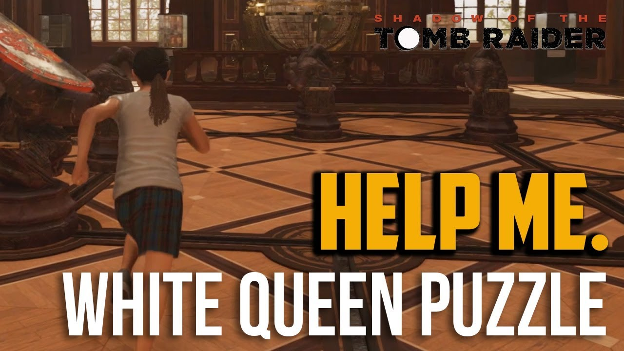 Shadow of the Tomb Raider : White Queen Puzzle Solution