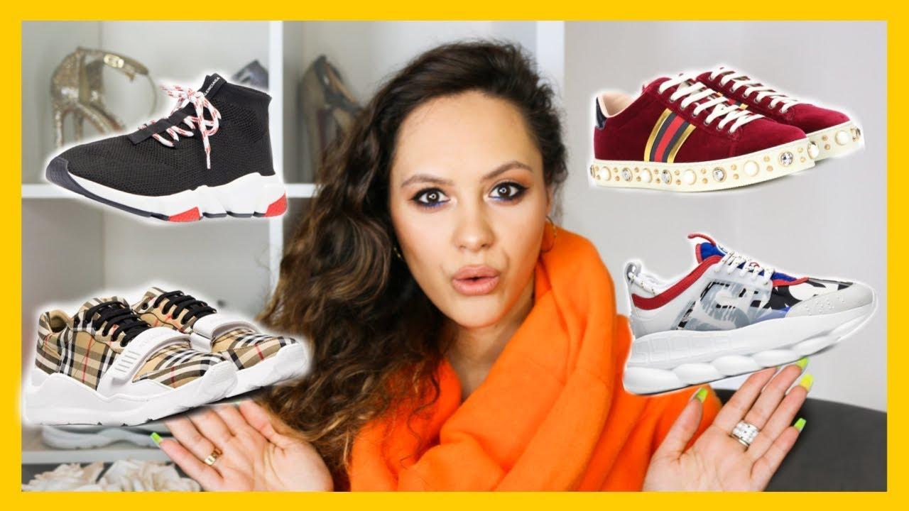 top designer sneakers 2018