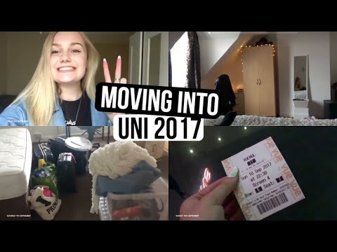 moving into uni 2017 | CaitlinRoseVlogs