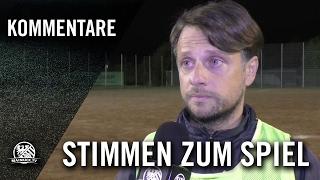 Die Stimmen zum Spiel (DJK Sparta Bürgel - Squadra Azzurra Offenbach, Kreisliga A, Offenbach)