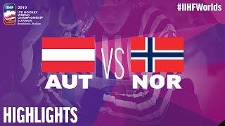 Norway vs Austria - Game Highlights - #IIHFWorlds 2019