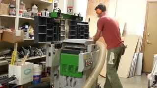 Combination Jointer Planer In Action