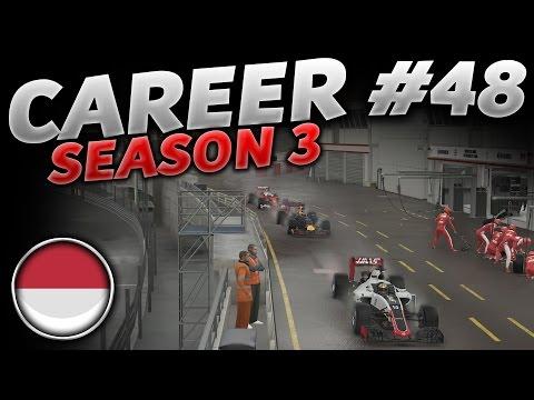 F1 2016 Career Mode Part 48: MONACO - DON'T BOTTLE IT