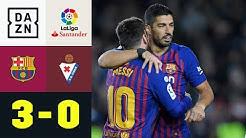 400! La Liga verneigt sich vor Lionel Messi: FC Barcelona - Eibar 3:0 | La Liga | DAZN Highlights