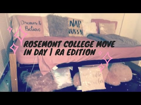 ROSEMONT COLLEGE MOVE IN DAY | RA EDITION ????????