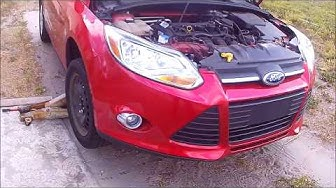 2012 2014 Ford Focus Windshield Washer Reservoir Replacement
