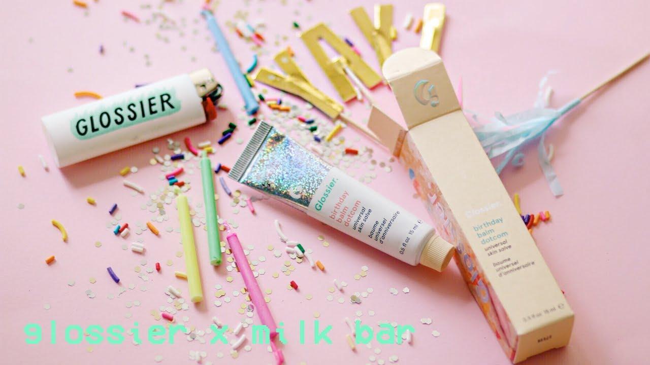 Glossier X Milkbar Balm Dot Com