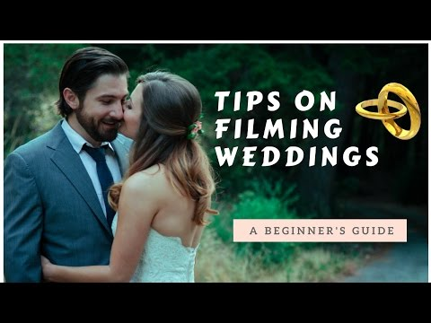How to film a wedding video for beginners  wedding videography tips ✔️