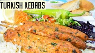 Turkish Kebabs Recipe #CookwithAnisa #recipeoftheday