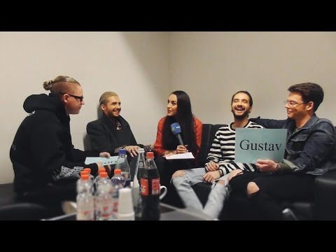 Tokio Hotel Backstage 2017 - GAME & CHALLENGE Interview Part 2 (English subtitles)