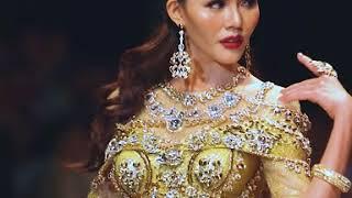 Á hậu Kim Nguyên - BST Trò chơi Vương quyền