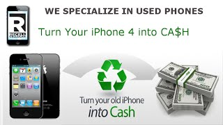 Sell My iPhone 4 For The Most Money - Recell Cellular Video