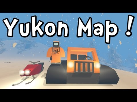 UNTURNED 3 - Yukon Map! Snowmobile! Snow-cat! (Gameplay / Walkthrough)