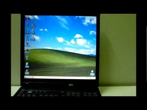 Notebooks Thinkpad R52 R51 R40, Excelentes !!!! - YouTube