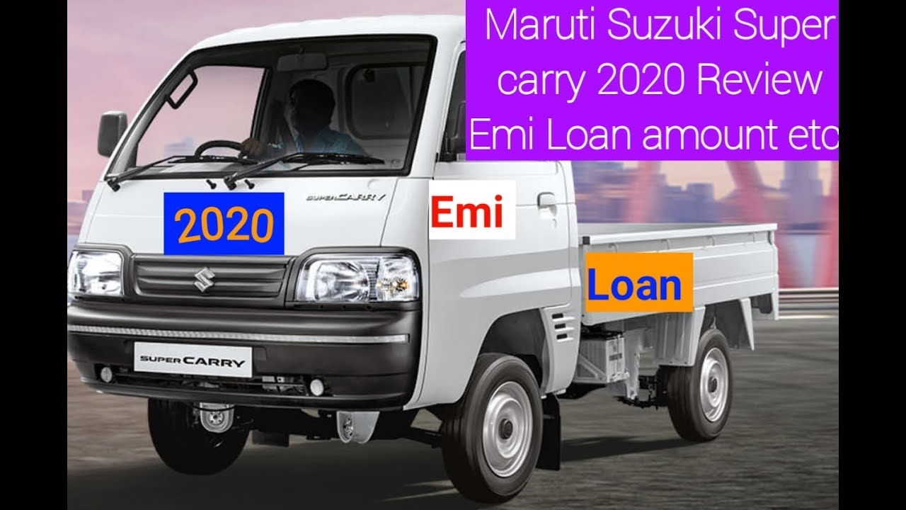 Maruti Suzuki Super Carry A Perfect Choice For Small Business Owners Babatrucks Blog