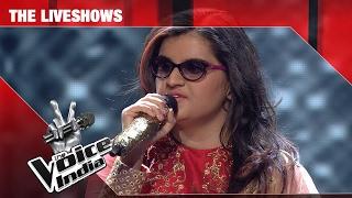 neha bhanushali aaj jane ki zid na karo   the liveshows   the voice india s2
