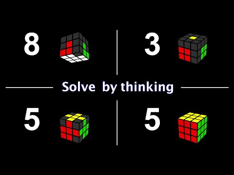 8355 : An Intuitive Method To Solve A Rubik's Cube !
