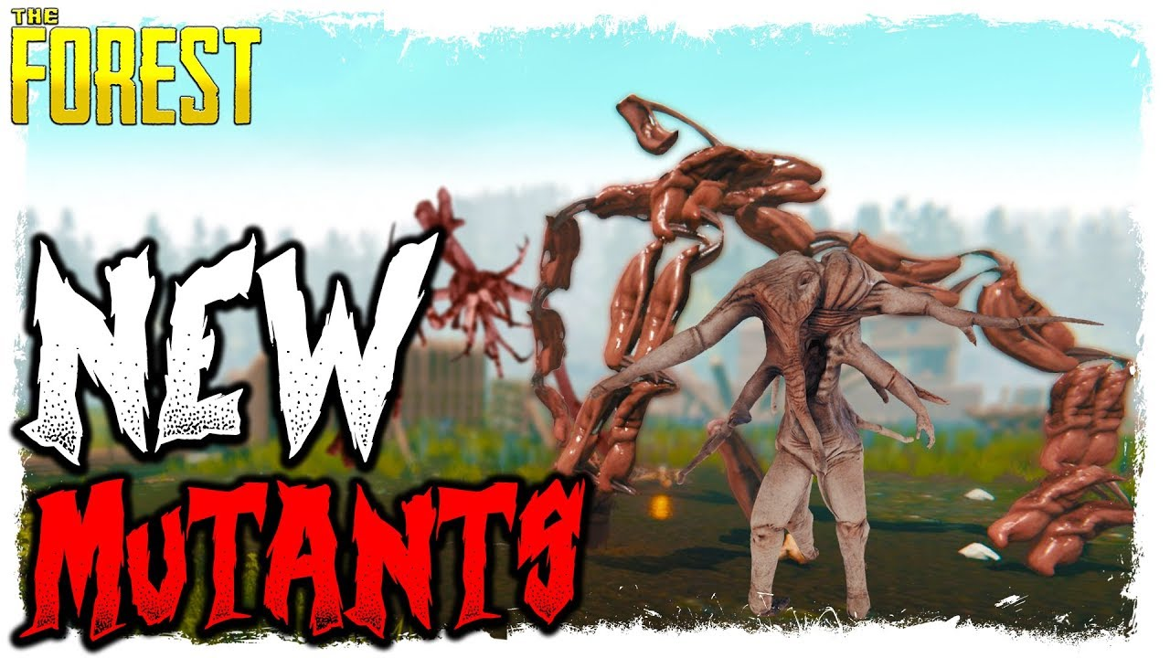 The Forest New Mutants Testing Weakness Youtube