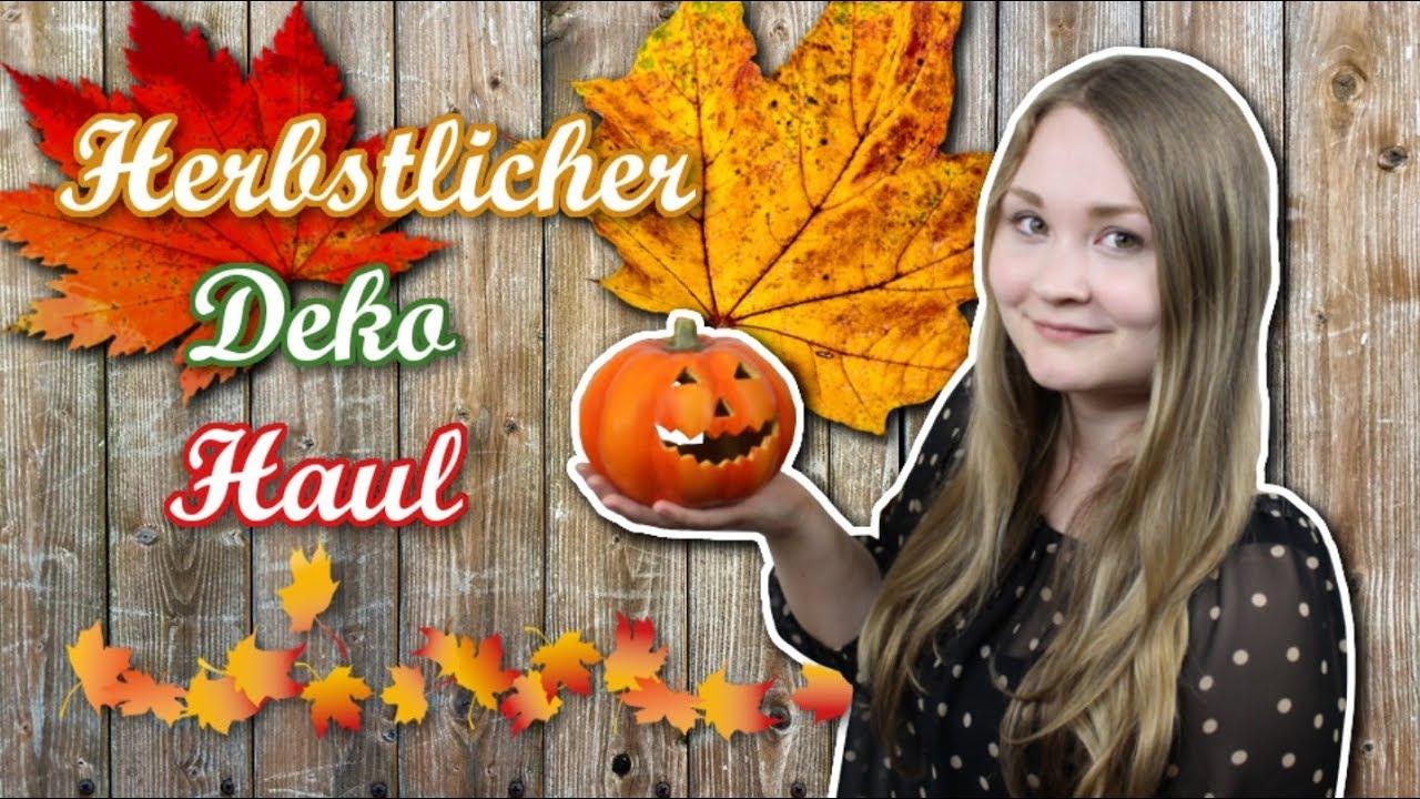 Herbstlicher Deko Haul - Depot & Nanu Nana | Herbst ...