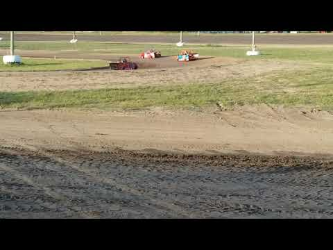 Ryan Read #25r mini wedge 8/9/19 @ I-96 speedway..Heat race